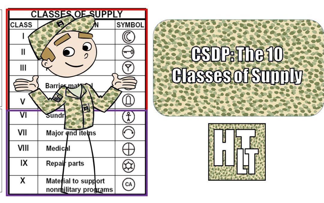 Классы предметов снабжения в армии США