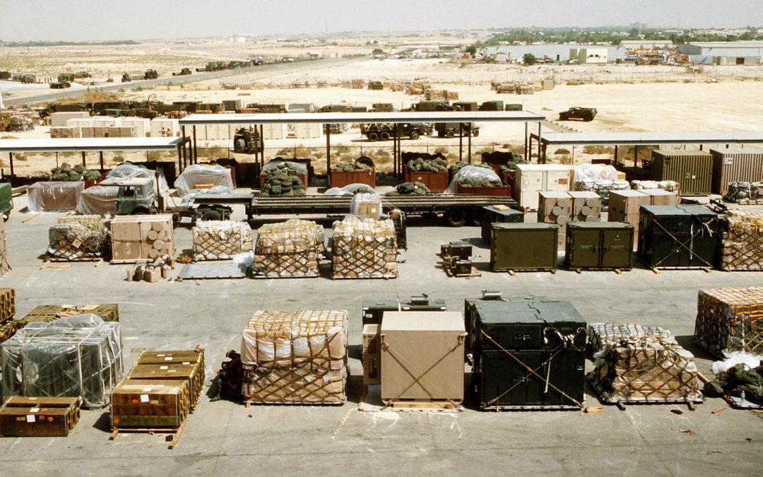 Тыловое обеспечение армии США