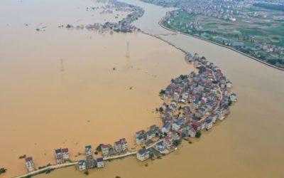 Это flooding или inundation?